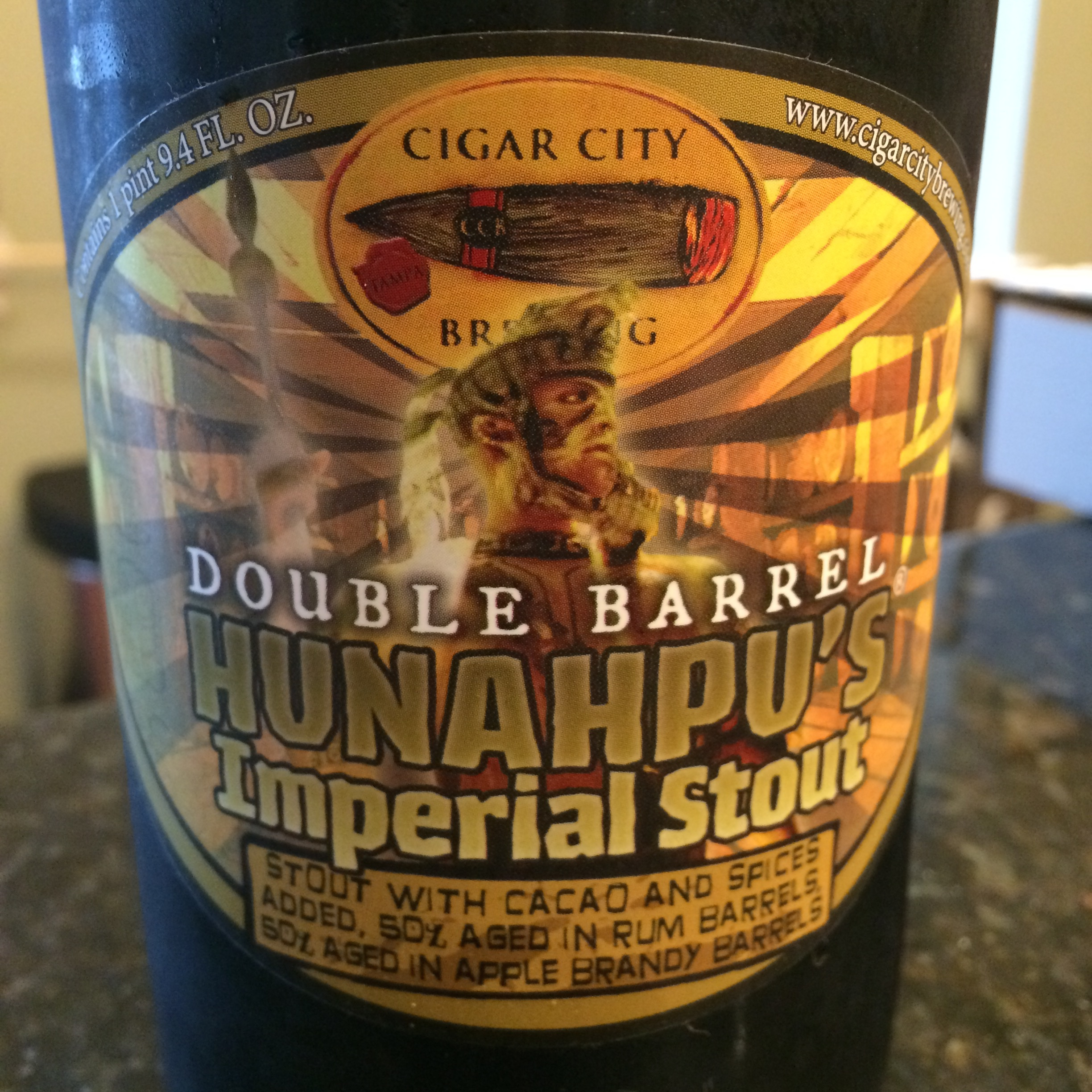 Hunahpu S Imperial Stout Double Barrel Aged Ideal Brew